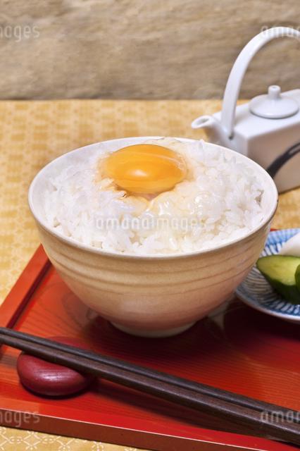卵かけご飯の写真素材 [FYI04120479]