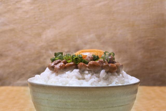 納豆ご飯の写真素材 [FYI04120482]