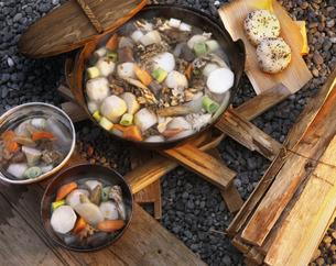 芋煮会(山形)の写真素材 [FYI04120512]