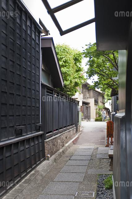 路地の写真素材 [FYI04120589]