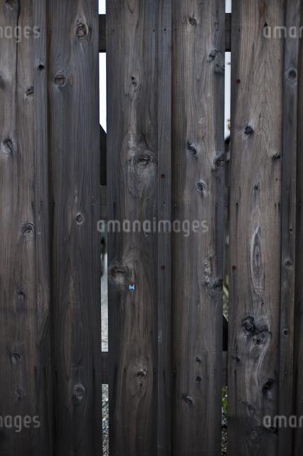 板塀の写真素材 [FYI04120616]