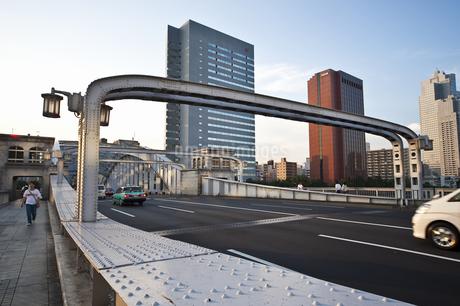 勝鬨橋可動部の写真素材 [FYI04120651]