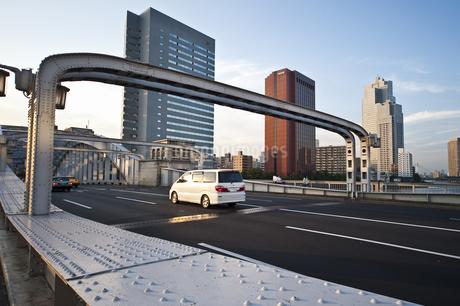 勝鬨橋可動部の写真素材 [FYI04120653]