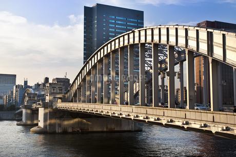 勝鬨橋の写真素材 [FYI04120687]