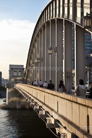 勝鬨橋の写真素材 [FYI04120690]