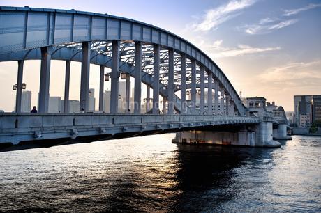 勝鬨橋の写真素材 [FYI04120698]