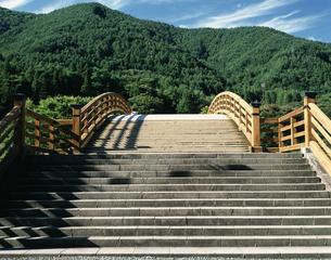 木曽の大橋の写真素材 [FYI04120962]