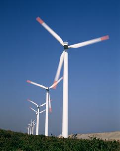 風力発電 風車の写真素材 [FYI04121140]