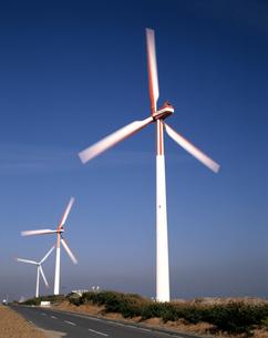 風力発電 風車の写真素材 [FYI04121141]