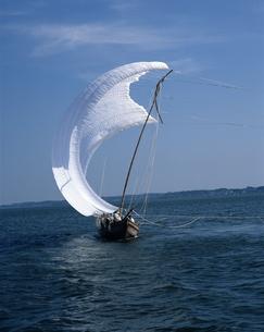 帆引き船の写真素材 [FYI04121371]