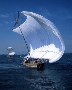 帆引き船の写真素材 [FYI04121374]