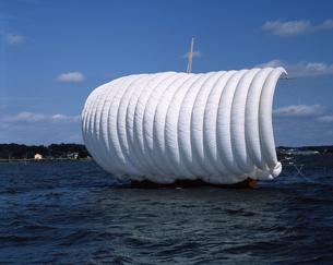 帆引き船の写真素材 [FYI04121375]