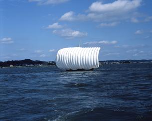 帆引き船の写真素材 [FYI04121376]