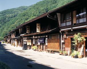 奈良井宿の写真素材 [FYI04121407]
