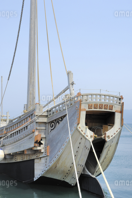 北前船の写真素材 [FYI04122088]
