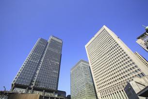 高層ビル街の写真素材 [FYI04122690]