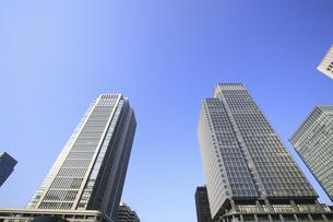 高層ビル街の写真素材 [FYI04122691]