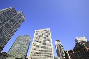 高層ビル街の写真素材 [FYI04122692]