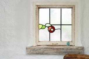 ステンドグラスの写真素材 [FYI04124300]