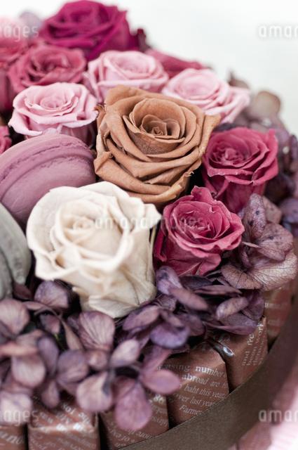 お花のケーキの写真素材 [FYI04124499]