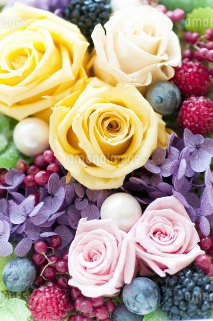 お花のケーキの写真素材 [FYI04124511]