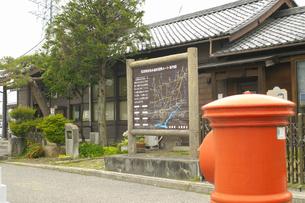 穂高駅の写真素材 [FYI04124799]