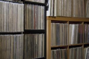 LPレコードの写真素材 [FYI04126064]