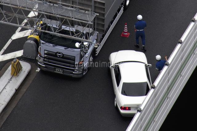 交通事故の写真素材 [FYI04126222]