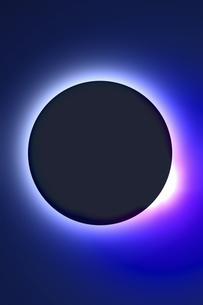 皆既日食イメージの写真素材 [FYI04126487]