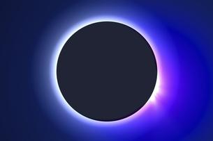皆既日食イメージの写真素材 [FYI04126488]