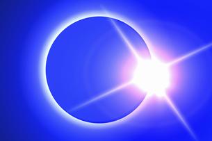 皆既日食イメージの写真素材 [FYI04126493]