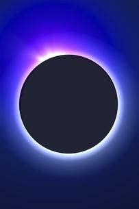 皆既日食イメージの写真素材 [FYI04126494]