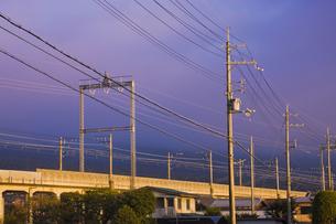 湖西線高架の写真素材 [FYI04126778]