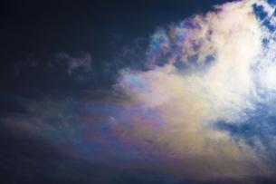 彩雲の写真素材 [FYI04126790]