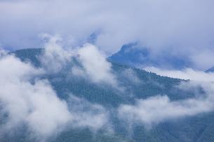 雨上がりの山の写真素材 [FYI04126891]