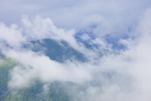 雨上がりの山の写真素材 [FYI04126893]