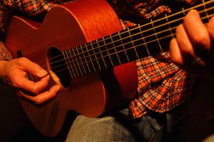 ギターの写真素材 [FYI04126965]
