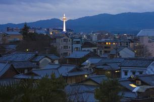 京都夜景の写真素材 [FYI04127009]
