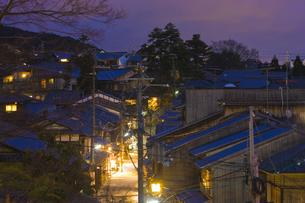 京都夜景の写真素材 [FYI04127014]