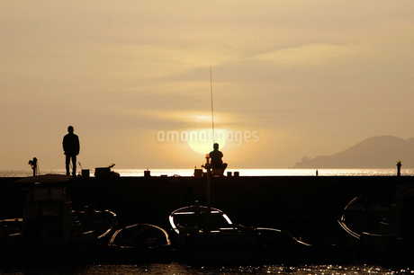 海釣りの写真素材 [FYI04127877]