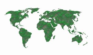 世界地図のイラスト素材 [FYI04129723]