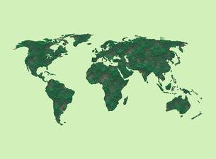 世界地図のイラスト素材 [FYI04129724]