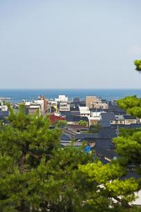 海の見える丘の写真素材 [FYI04130725]