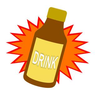 栄養ドリンクのイラスト素材 [FYI04130864]