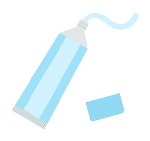 歯磨き粉のイラスト素材 [FYI04131040]