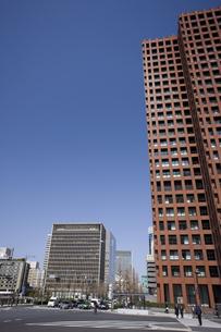 大手町のオフィスビル街の写真素材 [FYI04131166]
