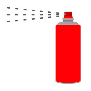 スプレー缶のイラスト素材 [FYI04131237]