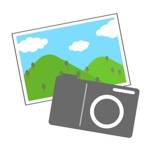 デジカメと写真のイラスト素材 [FYI04131558]