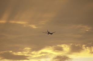 ジェット機の写真素材 [FYI04132376]