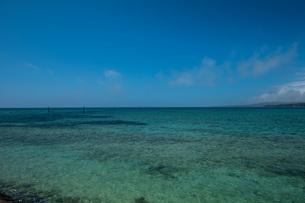 海と空の境目、水平線の写真素材 [FYI04132738]